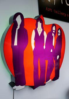 "Marco Lodola ""Apple"" (light sculpture)"