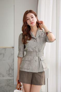 Korean Women`s Fashion Shopping Mall, Styleonme. Look Fashion, Trendy Fashion, Korean Fashion, Womens Fashion, Classy Dress, Classy Outfits, Coats For Women, Clothes For Women, Fashion Sewing