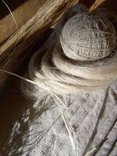 Flax and Hemp:  these two bast fibers have been with us since the beginning of civilization.  They shimmer like silver and gold.  The history of the plants and fiber is both interesting and filled ...