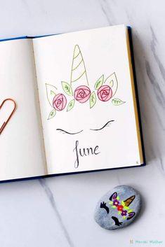 Unicorn theme for bullet journal. Unicorn theme for bullet journal. Unicorn theme for bullet journal. Bullet Journal 2019, Bullet Journal School, Bullet Journal Spread, Bullet Journal Ideas Pages, Bullet Journal Layout, Bullet Journal Inspiration, Bellet Journal, Journal Aesthetic, Cute Doodles