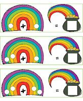 Rainbow Math rainbow math, classroom, march, idea, patrick, rainbows, kindergarten, educ, spring