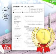 Simple resume templates to make your CV professional. All of these visual CV templates come with a matching cover letter and reference page.  #SimpleResume #cv #ProfessionalResume #job #jobsearchtips #cvtemplate #career #interview #jobsearch #resumetemplate Modern Resume Template, Cv Template, Resume Templates, Basic Resume, Job Resume, Resume Tips, Simple Resume, Visual Resume, Free Resume