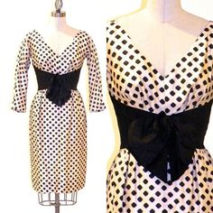 Vintage 1950s Dress Mam'selle by Betty Carol 50s by daisyandstella