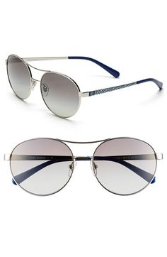 Tory Burch Round 56mm Sunglasses
