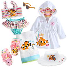 Finding Nemo Swim Collection for Baby Girl