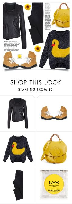 """What to wear?"" by samra-bv ❤ liked on Polyvore featuring Maison Margiela and NYX"