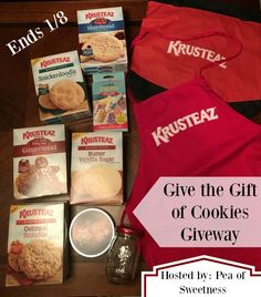 Give the Gift of Cookies Giveaway - win an amazing Krusteaz Prize Pack! (ends 1/8)