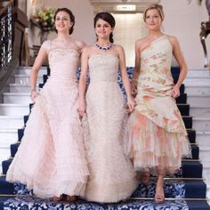 The Monte Carlo dresses #leightonmeester #selenagomez