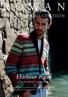 collection of six timeless mens patterns designed exclusively for Knitrowan by Martin Storey. Designs include a classic cable sweater, a striped shawl collar cardigan and a fairisle sweater with an eyecatching geometric design. You can purchase the patterns individually at £4.00 each, or buy all six patterns as an entire collection here for £12.00 | English Yarns