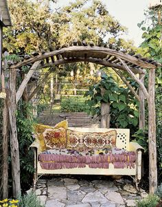 texa, decorating ideas, arbor, pergola, glider, place, garden, magnolia pearl, spot