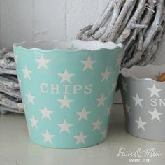 Chips Kom Mint Star