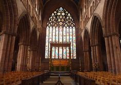 east window at Carlisle Cathedral, uk - been there and it's gorgeous