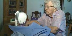 A 99 anni cuce un abito al giorno per le bambine povere (FOTO, VIDEO)