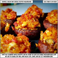 Looking for a starter or a taster night idea to really show up that moo at class? Try our chorizo and bacon stuffed mushrooms and you will never look back! Healthy Diet Recipes, Raw Food Recipes, Healthy Eating, Brunch Recipes, Healthy Food, Slimming World Recipes Syn Free, Slimming World Starters Recipes, Bacon Stuffed Mushrooms, Cold Meals