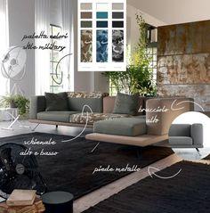 #divano personalizzabile #UnderDoimoSalotti : gli elementi.