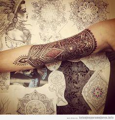 tatuajes brazaletes mujer - Buscar con Google