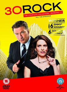 BARGAIN 30 Rock – Complete Season 1-7 DVD Box Set NOW £27 delivered at Amazon CHEAPEST EVER PRICE - Gratisfaction UK