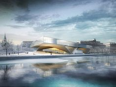 Image result for museum extension architecture competition entry