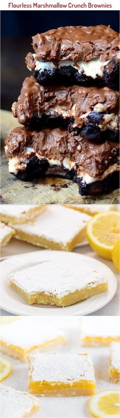 These are THE BEST brownies. You can make the brownies from scratch or dress up a box mix! Everyone asks for the recipe! No Bake Brownies, Best Brownies, Talipia Recipes, Brownies From Scratch, Baking Recipes, Healthy Recipes, Marshmallow, Food To Make, Good Food