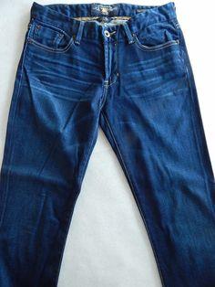 Lucky Brand 2/26 Ankle Sweet Jean Boot Cut Stretch Dark Blue Denim Never Worn #LuckyBrand #BootCut