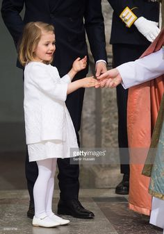 Princess Estelle during her grandfather's 70th Birthday festivities. April 30, 2016