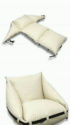 Diy pouf - not in English -- neat idea though Sewing Hacks, Sewing Crafts, Sewing Projects, Sewing Tips, Sewing Ideas, Diy Projects, Diy Furniture, Furniture Outlet, Furniture Stores