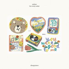 Journal Stickers, Scrapbook Stickers, Planner Stickers, Printable Stickers, Cute Stickers, Korean Stickers, Cute Doodles, Cute Cartoon Wallpapers, Aesthetic Stickers