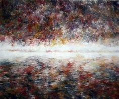 Gentle Horizon (Original) by Alex Echo Available from Westover Gallery £3250