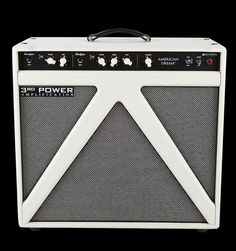 3RD POWER American Dream 1X12 Combo | Switchable tube output power 22w-10w. The AD112 combo takes advantage of 3RD POWER's proprietary SWITCHBACK™ triangular speaker enclosure to deliver room-filling sound without the typical 'beam' associated with standard combo amp enclosures. Plus, the tuned triangle port comes with removable lid so you can go from closed-back to open-back operation whenever you want. | Guitar Center
