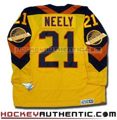 fdc54f6f9 Cam Neely Vancouver Canucks 1982 CCM vintage jersey