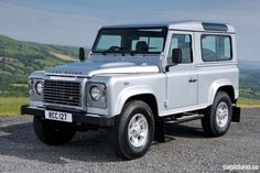 Land Rover Defender 90. Now there's vehicle worth driving- nice & very slow.