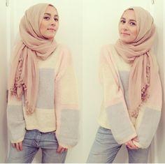 Neutrals. #dinatokio #hijab