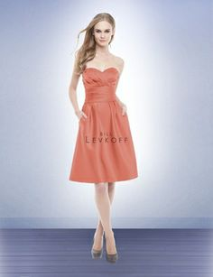 Terracotta color dress