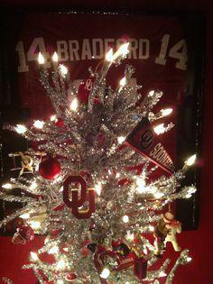My OU CHRISTMAS tree