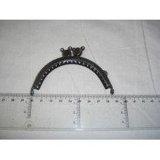 Fecho Metal Niquel escuro 8.5 cm