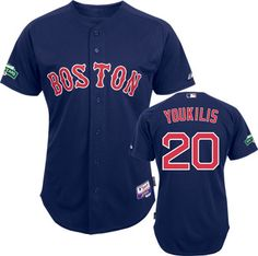 boston red sox kevin youkilis 20 blue authentic jersey sale