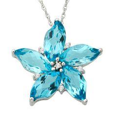 Blue Topaz + White Sapphire necklace Z Cute Jewelry, Jewelry Accessories, Jewelry Necklaces, Unique Jewelry, Geek Jewelry, Charm Bracelets, Topaz Jewelry, Bullet Jewelry, Birthstone Jewelry