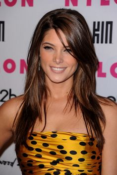 Ashley Greene Long Layered Hair #celebrity
