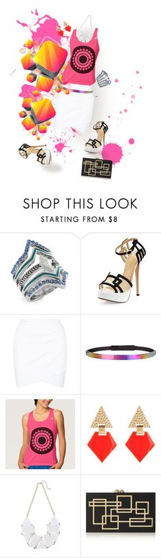 """""""Splash of Color"""" by prettyroses ❤ liked on Polyvore featuring BCBGeneration, Charlotte Olympia, Maison Margiela and Lady Fox"""