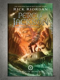 New Percy Jackson Sea of Monsters Cover they originals covers were more of a easier if you may say fantastic than the new ones the new ones are more complex