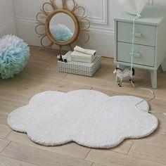 Douceur et poésie pour ce tapis en forme de nuage