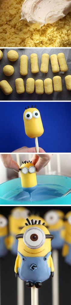 Mini Minions @Erin Tooley Can this happen next year? If you make them for an event I volunteer to help make em!