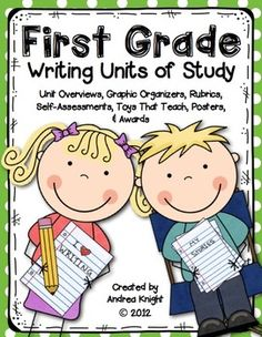 This download has been revised to include more black-and-white copies vs. color copies. It still includes all the lesson overviews, writing rubrics, student self-assessments, graphic organizers, notebook resources, writing templates, posters, and awards. 163 pages, $ #writing #workshop #graphicorganizers