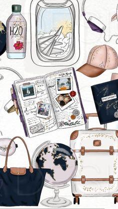 19 Trendy travel design layout vacation scrapbook in 2020 Travel Wallpaper, Photo Wallpaper, Mobile Wallpaper, Bridge Wallpaper, Screen Wallpaper, Wallpapers Tumblr, Cute Wallpapers, Wallpaper Wallpapers, Vacation Scrapbook