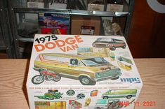 Dodge Van, Model Kits, Box Art, Trailers, Yamaha, Boxes, Trucks, Cars, Ebay