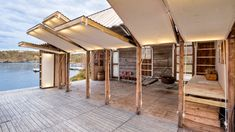 A Norwegian Boathouse Converted into a Contemporary Summer Home by TYIN tegnestue | DesignRulz