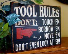Tool Rules Garage/Workshop