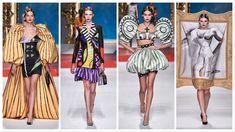 Moschino Ready to Wear – Spring 2020 - Glam News Magazine Jeremy Scott, News Magazines, Gerbera, Pablo Picasso, Emporio Armani, Moschino, Mona Lisa, Ready To Wear, Princess Zelda