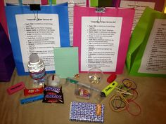 Compassion Fatigue Survival Kit for Counselors. I had so much fun putting this together for my co-workers