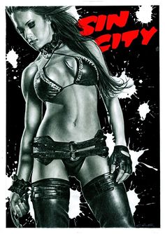 Sin City - movie poster - Calibos